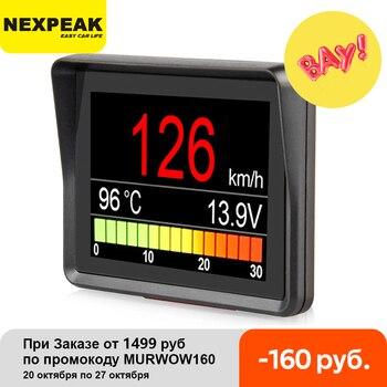 NEXPEAK A203 OBD2 On-board Computer Car Digital Computer Trip Display Speed Fuel Consumption Temperature Gauge OBD2 Scanner 1