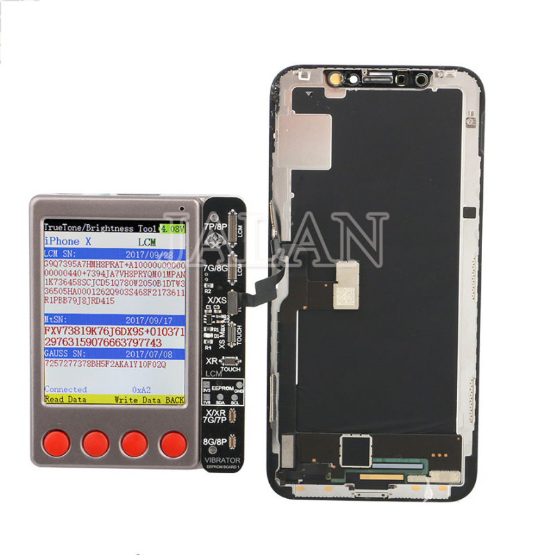 W28 Pro LCD Display Battery Tester For IPhone Android IWatch Ipad Light Sensor Touch Recover Data Line Headphone Test Tool