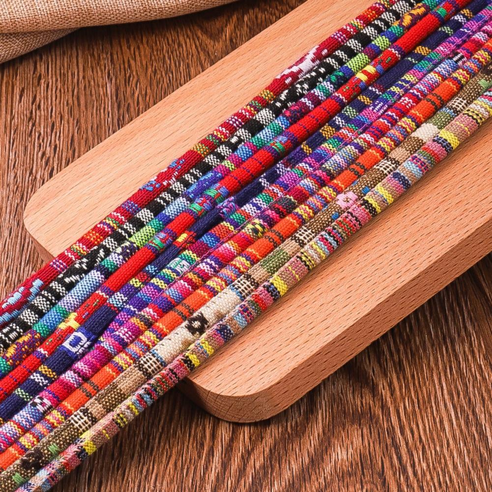 Ethnic Style Handmade Woven Eyeglasses Chain Women Glasses Rope Eyewear Lanyard Strap Fashion Retro Glasses Chain High Quality