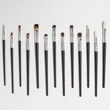 Shinedo 13 pcs pencil Makeup Brushes Tool Set Cosmetic Eye Shadow Blending lip eyebrow concealer  Beauty Make Up Brush Maquiagem