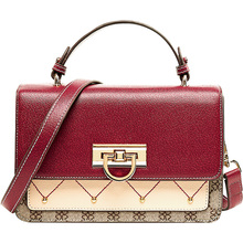 цены 2019 Lock Design Luxury Women's Bag Casual Fashion Women Shoulder Bags High Quality PU Leather messenger handbagBolsas