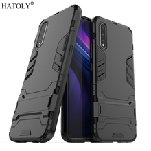 For Vivo iQOO Neo Case Rubber Robot Armor TPU PC Shell Hard Back Phone Cover for Protective