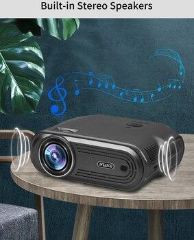 Портативный проектор WZATCO E80 4