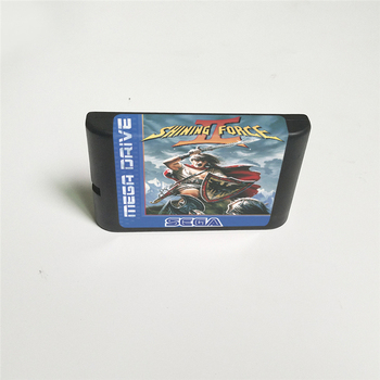 Shining Force II 2 (Battery Save) - EUR Cover With Retail Box 16 Bit MD Game Card for Megadrive Genesis Video Game Console 2