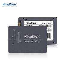 KingDian disque dur interne SSD, SATA 3, S280, 120, avec capacité de 240 go, 480 go, 2.5 go, 1 to, pour ordinateur portable