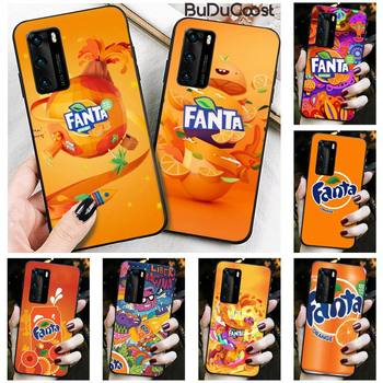 Reall Fanta Drink Orange Phone Case for Huawei P20 P30 P20Pro P20Lite P30Lite P10 P Smart plus P10Lite P40 Pro P40 lite image