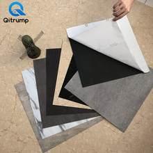 Selbst Klebe PVC Marmor Fliesen Aufkleber Wasserdicht Tapete Kunst Boden Aufkleber Küche Dekorative Film DIY Boden Kontaktieren Papier