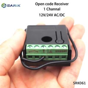 Image 5 - Mini rf sem fio interruptor de controle remoto 12 v 24 v 1 canal rf receptor 433mhz multi função