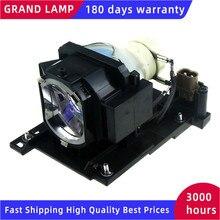 DT01021 Lámpara de proyector para Hitachi, CP X2511, CP X2511N, CP X2510Z, CP X2514WN, CP X3010, con carcasa, HAPPY BATE
