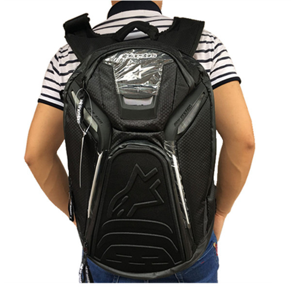 A Star Multi-functional Backpack Motorcycle Ghost Claw Traveling By Motorcycle Riding Backpack Motorcycle Bag Outdoor Travel Hel