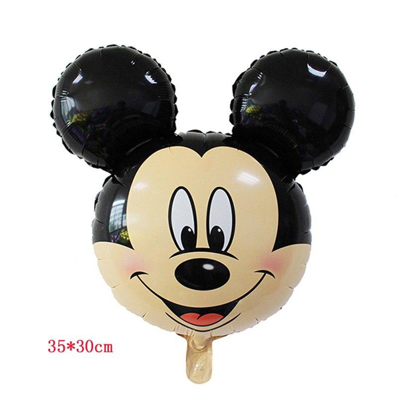 Cartoon Unicorn Princess Minnie Mouse Balloons For Christmas Decoration Supplies