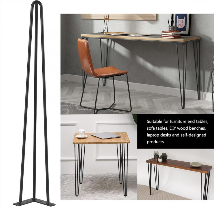 4 шт. ножки для стола, прочная металлическая ножка стола, 28/30 дюймов, стол, стул для ноутбука, Шпилька для стола, Нескользящие ножки для мебели DIY