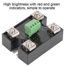 10DA 25DA 40DA SSR Dual Channel DC 3-32V Control AC 24-480V Single Phase AC Solid State Relay
