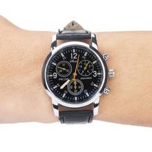 DUOBLA watch men luxury watches waterproof stainless steel band Casual wristwatch mens quartz watch Blue glass Geneva watches