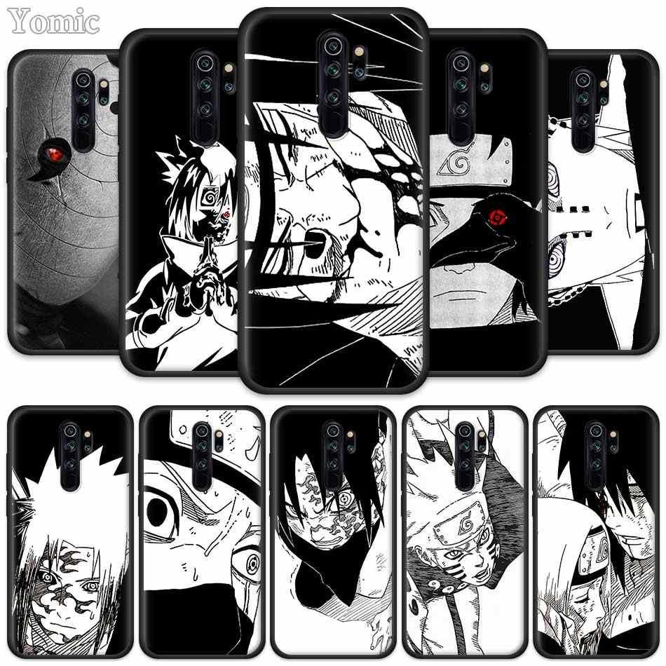נארוטו סאסקה קאקאשי רך מקרה עבור Xiaomi Redmi הערה 8 7 K20 6 פרו 8A 7A 7S 6A 5 4 4X בתוספת סיליקון שחור טלפון תיק כיסוי
