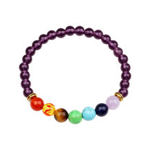 Minimalist Colorful Beads Bracelet For Men Women Natural Turquoises Agates Opal Small Stone Braslet Yoga Meditation Braclet Armb(China)