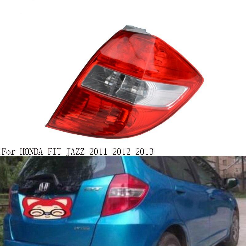 Задний светильник, задний фонарь для HONDA FIT JAZZ 2011-2013 GE6 GE8, задний тормозной фонарь, задний светильник, левый и правый