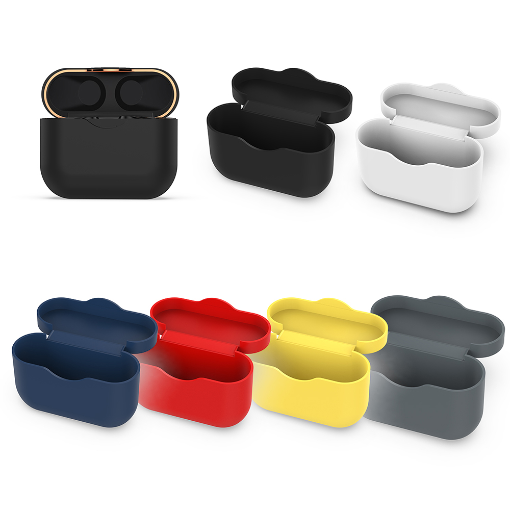 New Silicone Case For SONY WF-1000XM3 Earphone Accessories Charging Box Cover Case For SONY WF 1000XM3 TPU Soft Shell