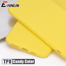 Leuke Matte Solid Candy Cover Voor Huawei P40 P30 Lite P20 Pro E 5G Xl P Smart S 2021 2020 Zachte Tpu Siliconen Telefoon Case