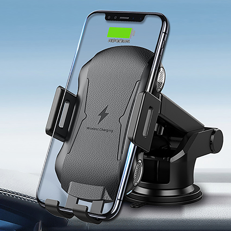 Wireless Car Charger,Touch Sensitive Automatic Qi Wireless Charger ...