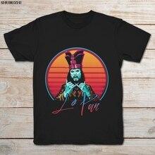 David Lo Pan Big Trouble In Little China Vintage camiseta negra de dibujos animados Camiseta Hombre Unisex nueva camiseta de moda envío gratis