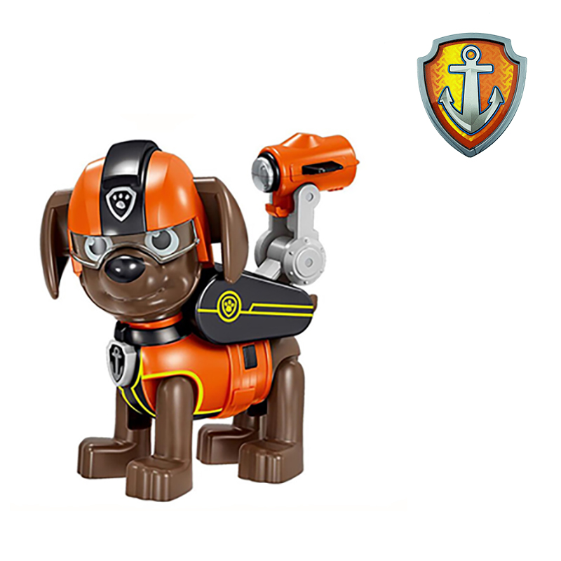 Canine Paw Patrol Toy Dog Canned Warp Knitting Toy Ryder Pow Captain Patrol Psi Patrol Doll Child canine patrol plane toy gift