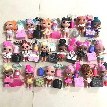 L O L. ¡Sorpresa! Original lol muñecas juguetes Surpris Generación de muñecas DIY caja ciega Manual moda modelo muñeca juguete Regalo 1 Uds Radom enviado