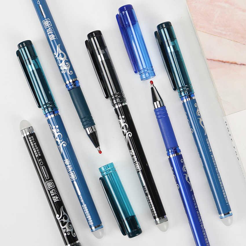 0,5 мм стержень ручки со стираемыми чернилами синие Черные чернила заправка волшебный гель канцелярские принадлежности студенческий экзамен запасные унисекс 1 шт