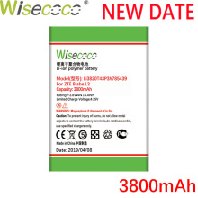 Wisecoco Li3820T43P3h785439 3800mAh New Battery For ZTE Blade L3 L 3High Quality Phone battery
