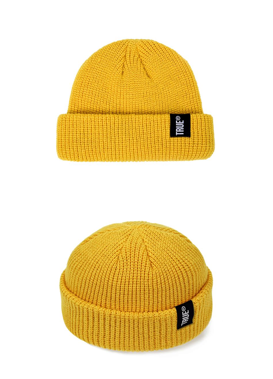 2021 Fashion Unisex Winter Hat Men Cuffed Cib Knit Hat Short Melon Ski Beanies Autumn Winter Solid Color Casual Beanie Hat 19