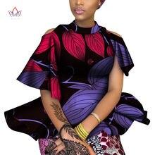 Весна 2020 африканские рубашки для женщин dashikis 6xl африканская