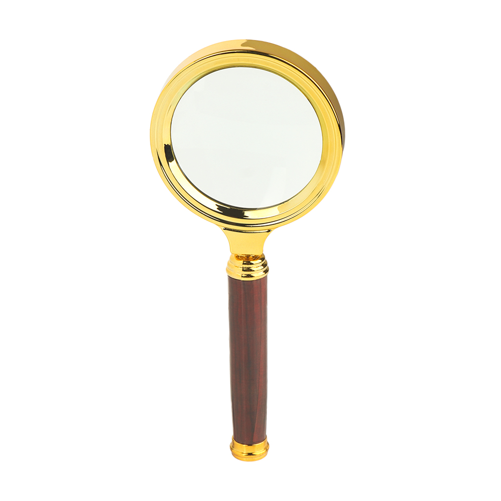 Mini 10X Magnifying Glass Portable Handheld Magnifier For Jewelry Newspaper Book Reading High Definition Eye Loupe Glass