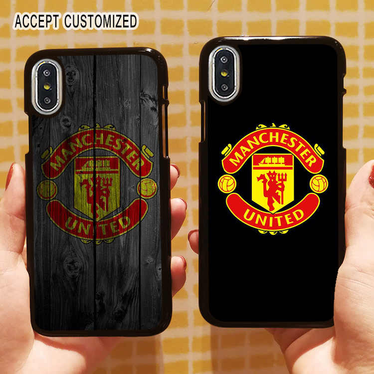 Manchester funda para iPhone 11 Pro 10 X XS Max XR 6S 6 7 8 Plus 5 5S SE Samsung Galaxy Note 8 9 10 S8 S9 S10 más S10E