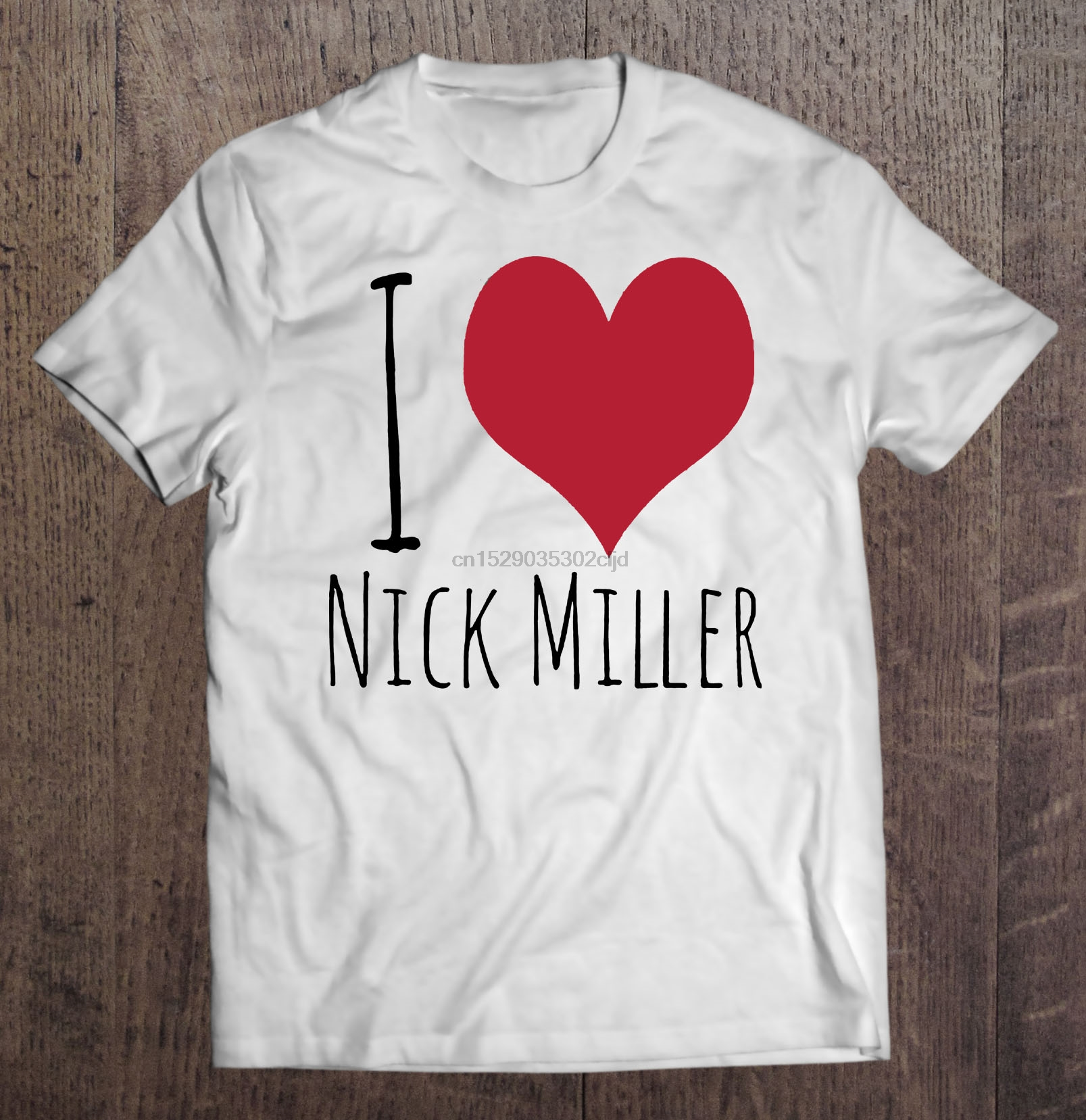 I Heart Love Nick Mens Tee Shirt Pick Size Color Small-6XL