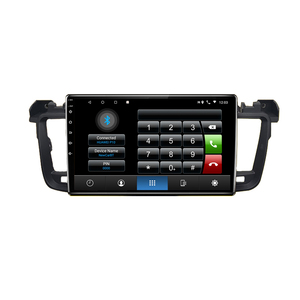 Image 5 - 2 din 8 core android 10 car radio auto stereo for Peugeot 508 sw 2011 2012   2018 navigation GPS DVD Multimedia Player carplay