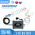 Lintratek 4G 1800MHz LTE DCS Signal Repeater Cellphone Cellular Booster 4G 1800 Signal Amplifier 4g LTE Yagi Antenna full kit s6