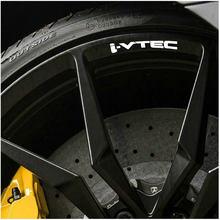 4pcs para Honda i-Rodas de Liga Leve Jantes vtec Adesivos Decal adesivo de carro acessórios do carro acessórios de Pneus