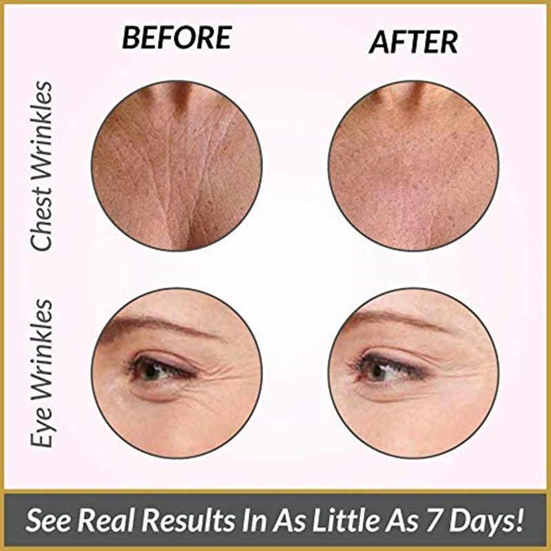 11 قطعة جهاز إزالة التجاعيد الوجه شرائط ، قابلة لإعادة الاستخدام المضادة للتجاعيد منصات الوجه ، تنعيم التجاعيد بقع ل الجبين العين الفم الوجه الرعاية
