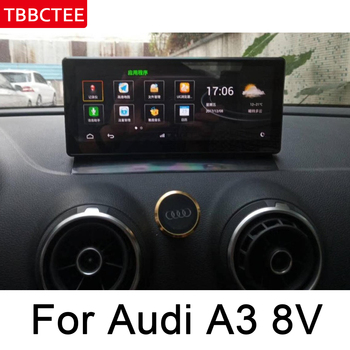 Car Radio DVD Player For Audi A3 8V 2013 2014 2015 2016 2017 2018 MMI Android Autoradio GPS Map Navigation HD Touch Screen image