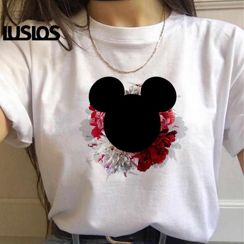 Lumbls Nova Chegada Minnie Camiseta Mouse Dos Desenhos Animados