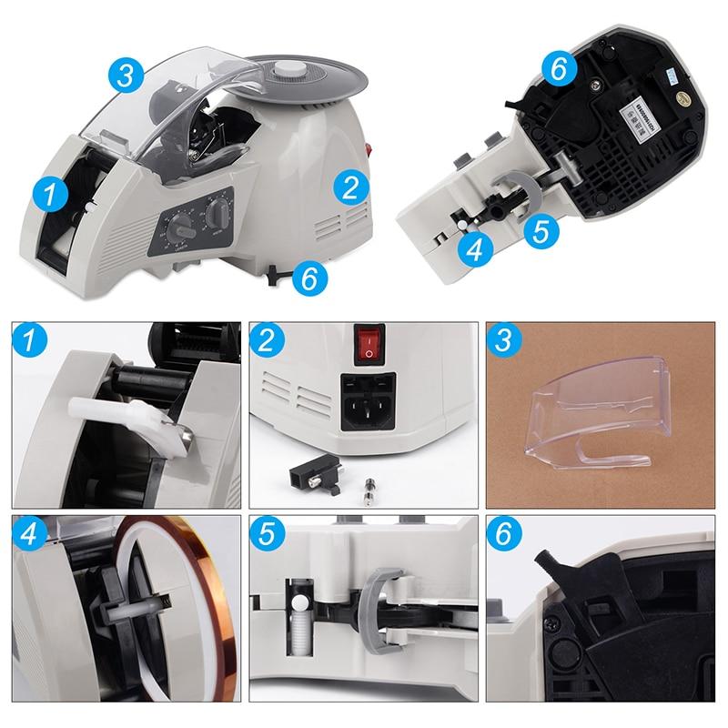 fita adesiva cortador de fita ZCUT-8 cortador
