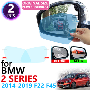 for BMW 2 Series F22 F45 Coupe Gran Active Tourer 218i 220i 228 Full Cover Rearview Mirror Rainproof Anti Fog Film Accessories image
