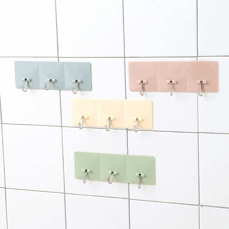 Wall Hook Creative Kitchen Bathroom Hanger Hook Home Organizer Accessory For The Modern Home Adhesive Hooks Key Holder Wall Home