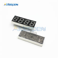 "0.56 ""4 Digit Super Red LED Display Common Anode met Tijdweergave 12 Pins Klok Module(China)"