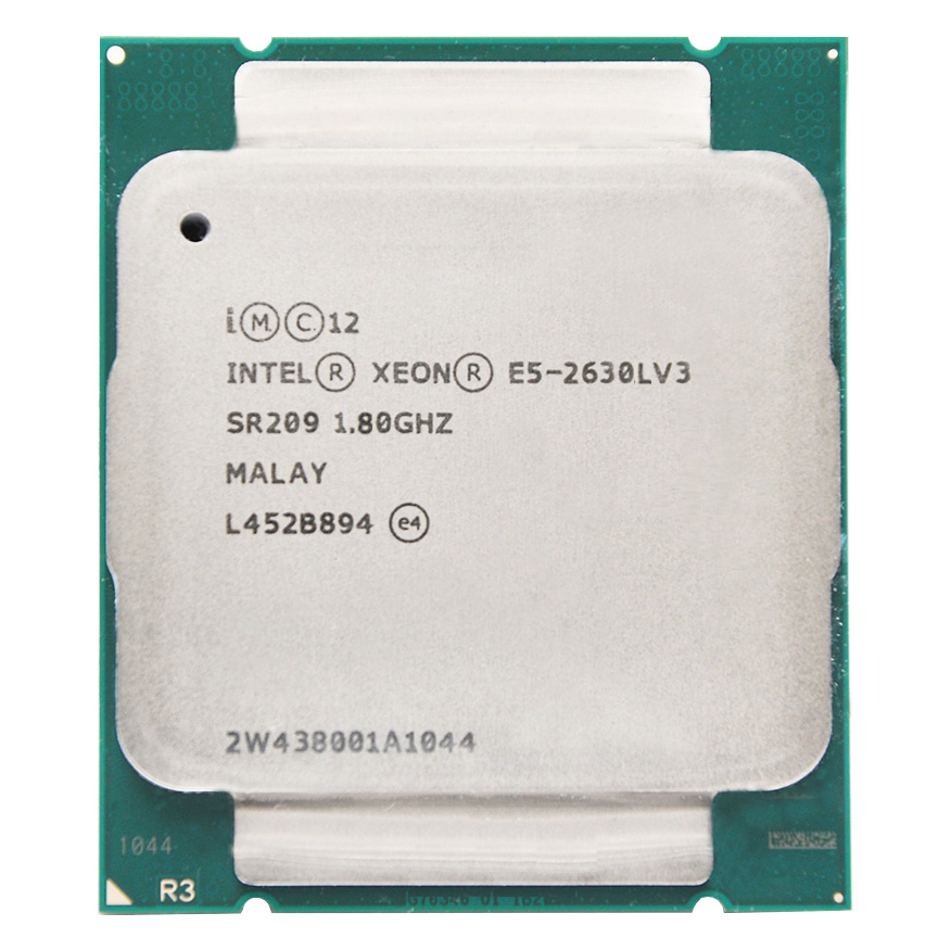 Intel Xeon E5-2630LV3  E5 2630LV3 E5 2630L V3 CPU 8-cores 1.80GHZ 20MB 22nm LGA2011-3  Processor