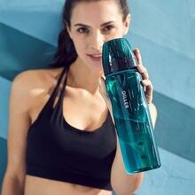 Прозрачная термостойкая пластиковая бутылка для воды в Корейском