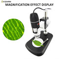 1000X Professional USB Digital Mikroskop 8 LED 2MP Elektronische Mikroskop Endoskop Zoom Kamera Lupe Fahrstuhl Ständer Werkzeuge-in Mikroskope aus Werkzeug bei