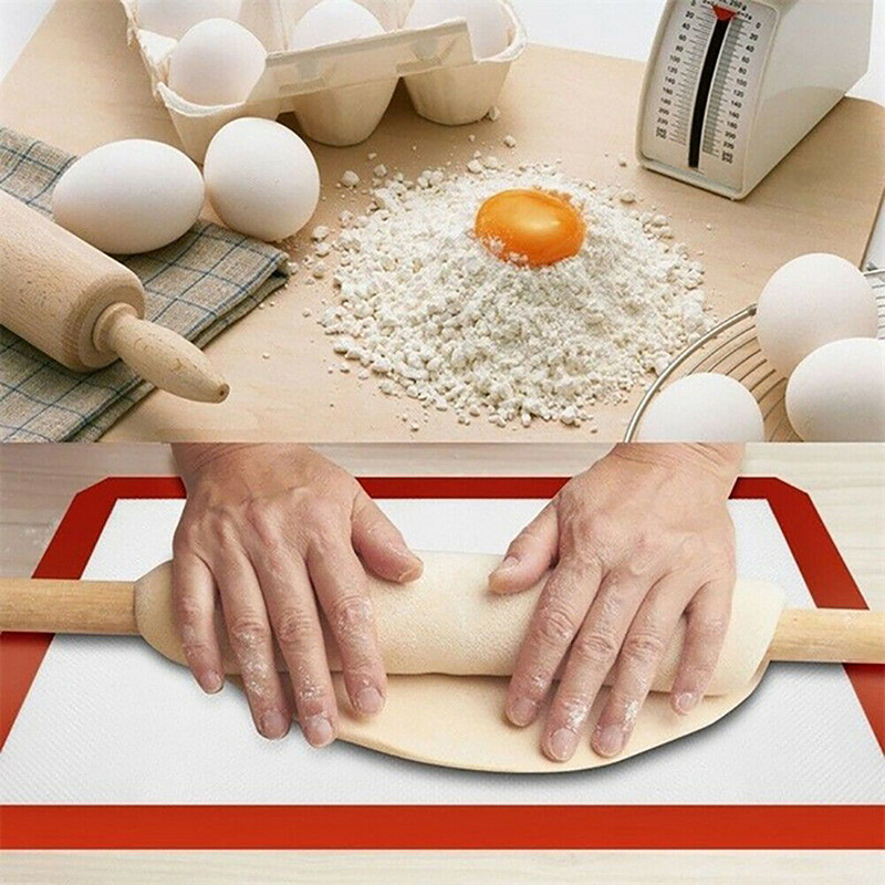 Silicone Baking Liner Kitchen Mat Non-Stick Heat Resistant Bakeware Oven Sheet Kitchen Accessories DC120