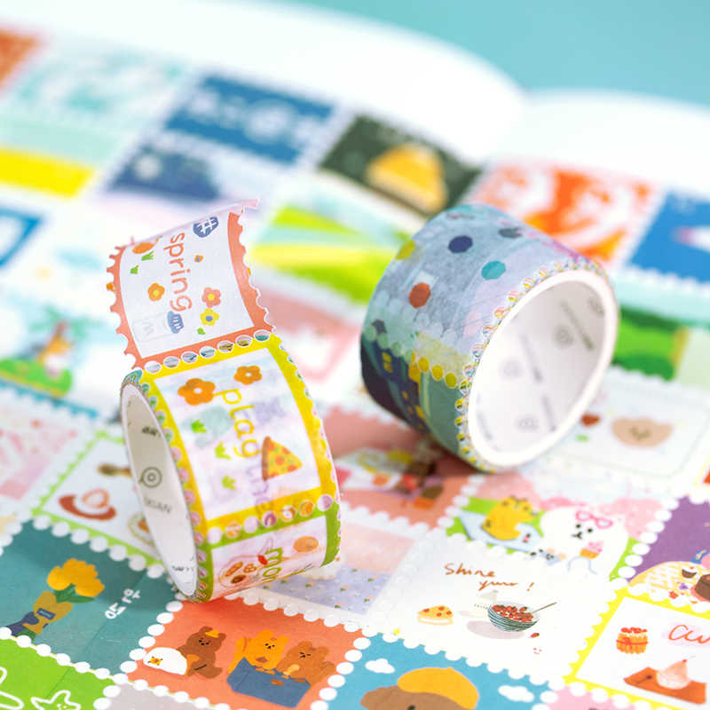 2 5cm Wide Cute Cartoon Animal Stamp Washi Tape Scrapbooking Decorative Adhesive Tapes Paper Japanese Stationery Sticker Aliexpress,Personal Paper Shredders Walmart