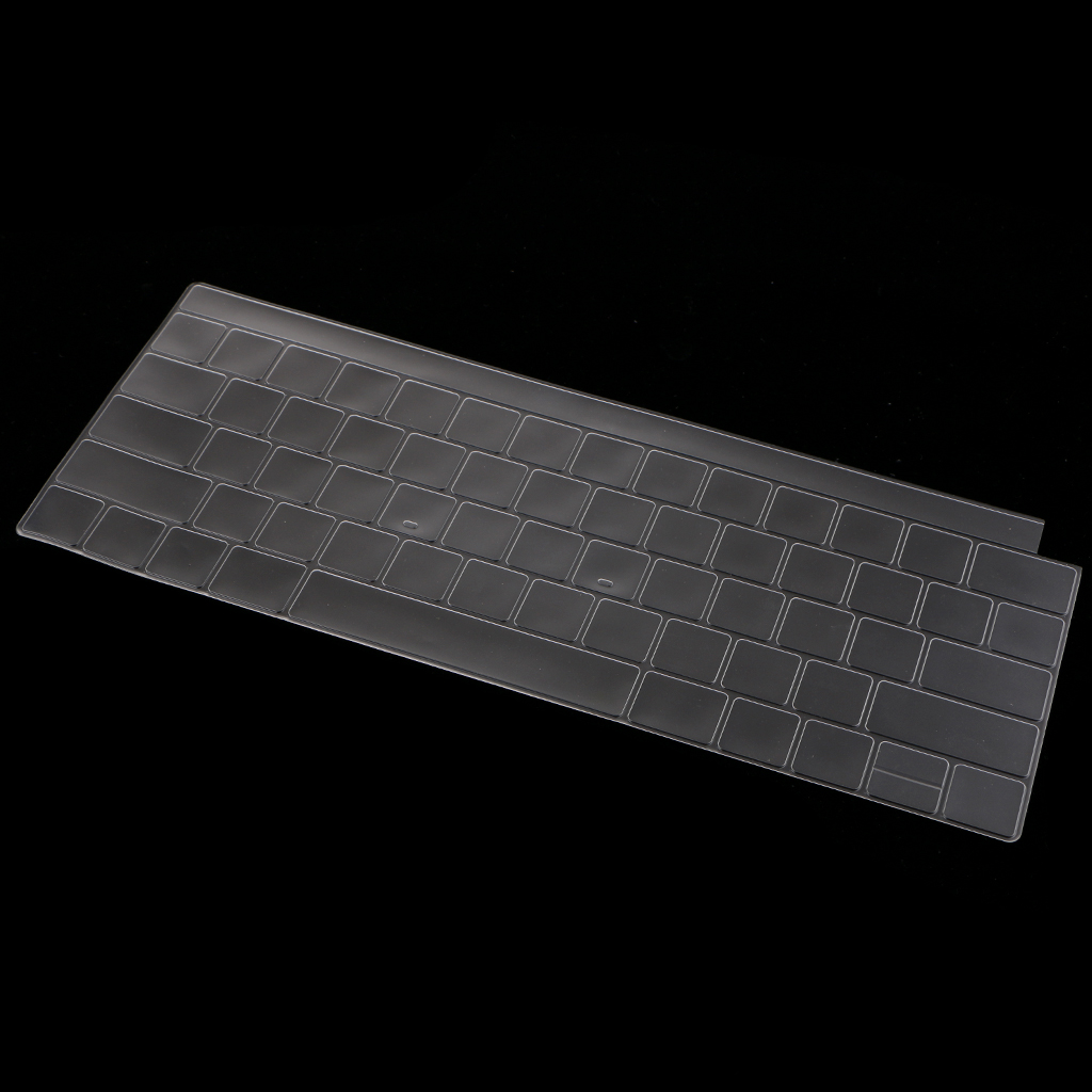 Thin Clear TPU Keyboard Cover Skin Touch Bar Protector For font b Apple b font font